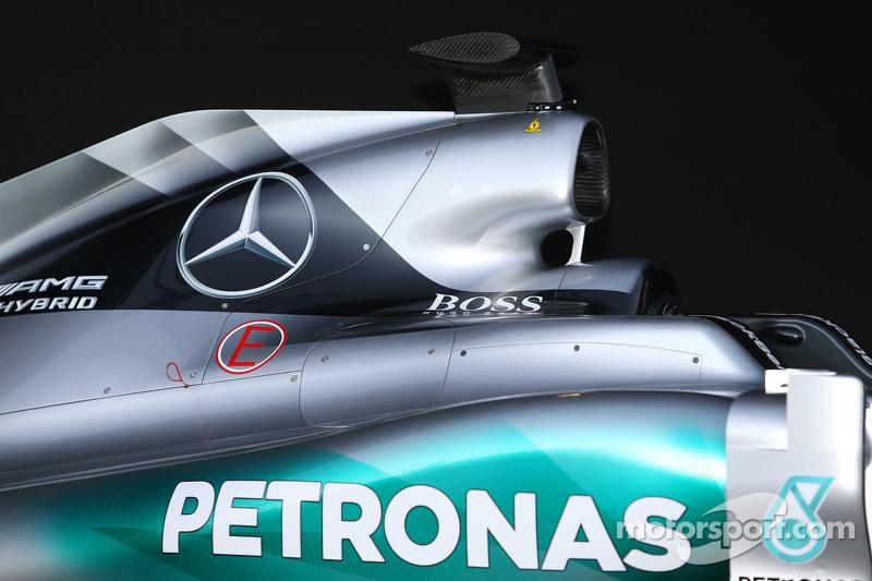 Mercedes AMG F1 W06, Motorhaube