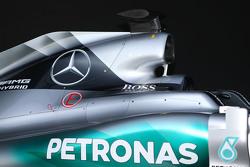 Mercedes AMG F1 W06 engine cover