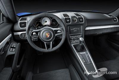 Porsche Cayman GT4 presentation