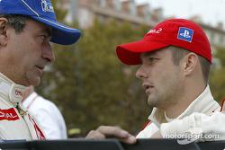 Carlos Sainz and Sébastien Loeb