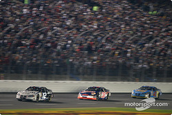 Ryan Newman leads Elliott Sadler