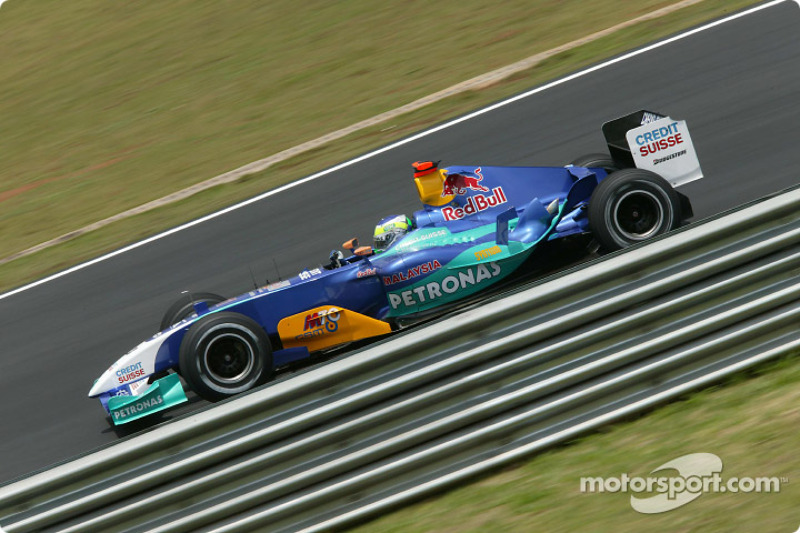 2004: Giancarlo Fisichella, Sauber-Petronas C23