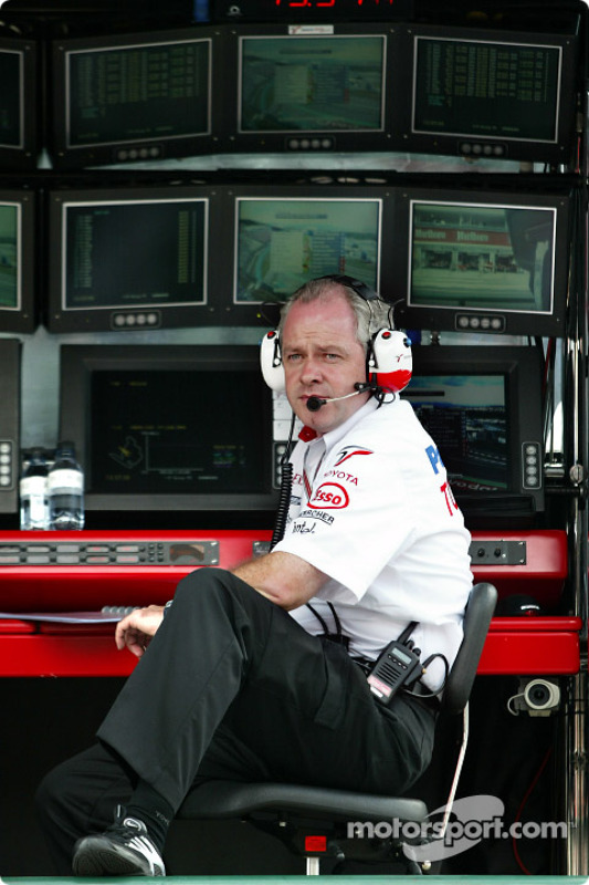 Richard Cregan, de Toyota