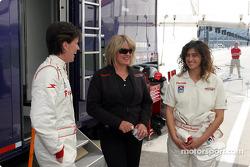 Sandi Eden, Kathryn Nunn and Rossella Manfrinato