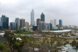 The city of Perth, host of the Rally Australia
