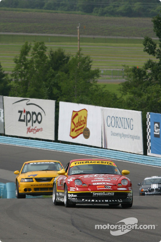 La Porsche 996 n°44 The Race Site.com : Craig Stanton, David Murry