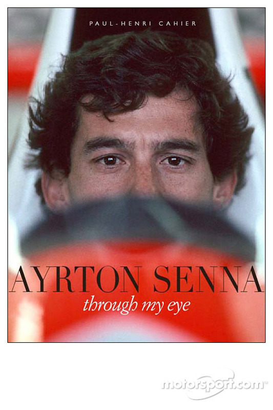 """Presentación del nuevo libro titulado 'Ayrton Senna - A través de mi ojo """", por el conocido fotógrafo de las carreras de autos Paul Henri-Cahier"""