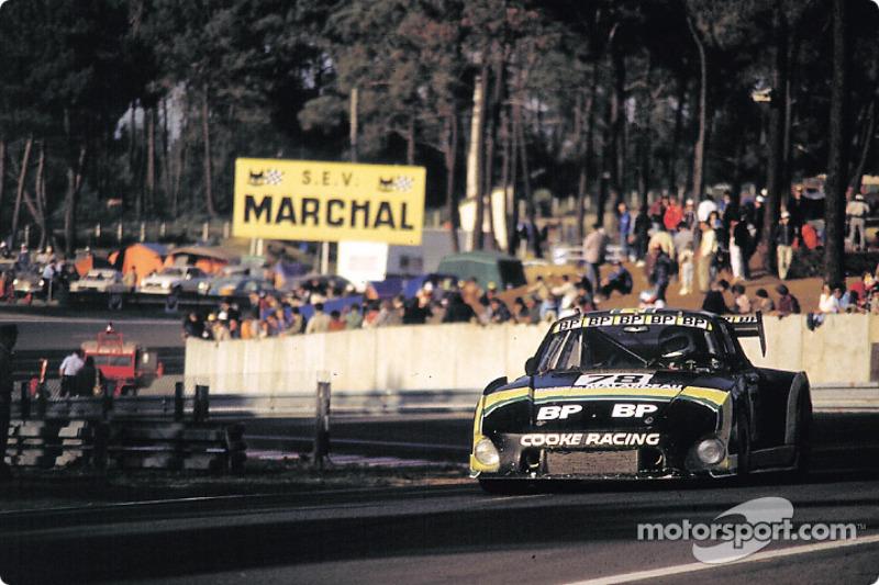 #78 BP Cooke Racing Porsche 935 K3: Dany Snobeck, François Servanin, René Metge