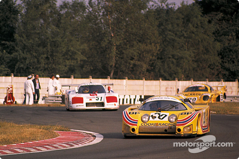 Cooke Racing Lola T610 Ford : Ralph Kent Cooke, Jim Adams, François Servanin