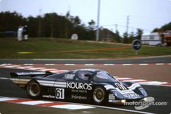 #61 Kouros Racing Team Sauber C8 Mercedes: John Nielsen, Mike Thackwell