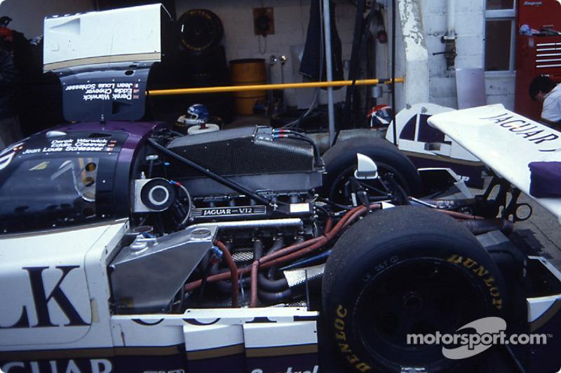 Engine of the #51 Silk Cut Jaguar Jaguar XJR6