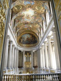 Visit of the Château de Versailles: the Chapel