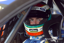 Craig Lowndes focussed as usual