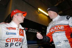Sébastien Loeb and Colin McRae