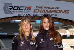 The lovely Tag Heuer girls
