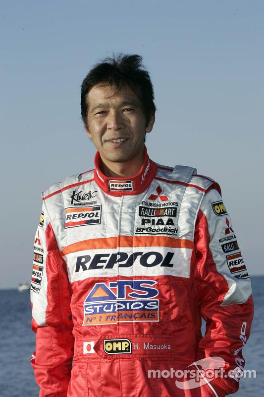 Mitsubishi Motors Repsol ATS Studios Team presentation: Hiroshi Masuoka