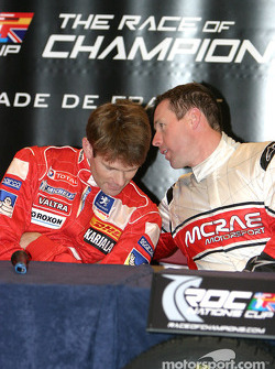 Press conference: Marcus Gronholm and Colin McRae