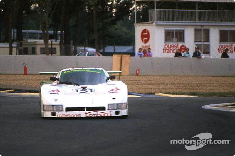 #151 Pierre-Alain Lombardi Spice SE86C Ford: Pierre-Alain Lombardi, Bruno Sotty, Fabio Magnani