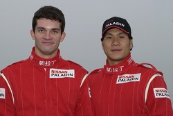 Nissan Dessoude team presentation: co-driver Fabian Lurquin and driver Xu Lang