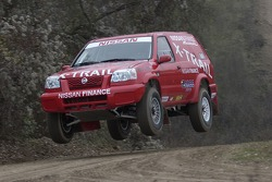 Paul Belmondo and William Alcaraz test the Nissan X-Trail