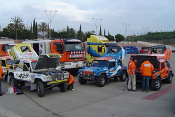 Team Dakar Sport in Parc Fermé