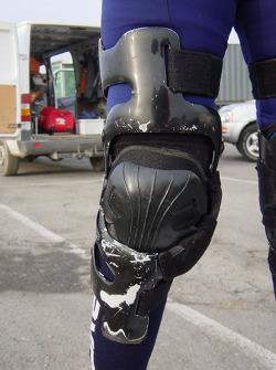 Isidre Esteve Pujol presents his rider equipment