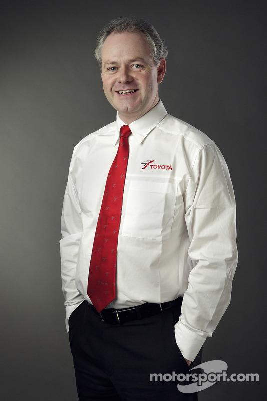 Richard Cregan, Genel Müdür, F1 Operations Toyota Motorsport GmbH