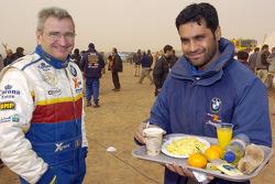 Alain Guehennec and Nasser-Saleh Al-Attiyah