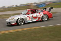 #75 Flying Lizard Motorsports Porsche GT3 Cup: Johannes van Overbeek, Lonnie Pechnik, Seth Neiman, Jon Fogarty, Patrick Long