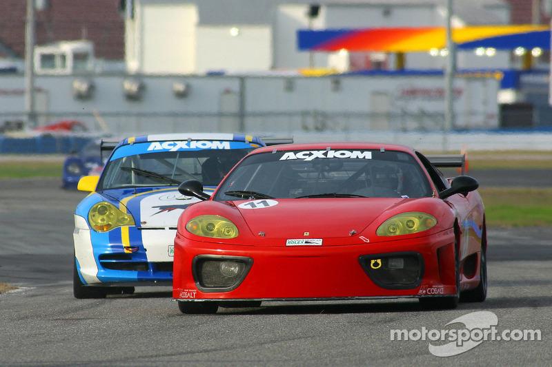 #11 JMB Racing USA Ferrari 360: Matt Plumb, Anthony Pinto, Jim Michaelian, Peter Boss, David Gooding