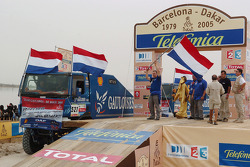 Podium: Jan de Rooy, Dany Colebunders and Clim Smulders