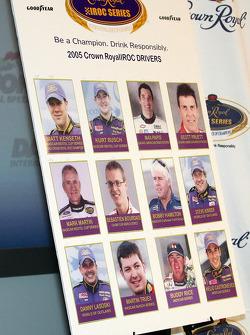 The 2005 IROC drivers