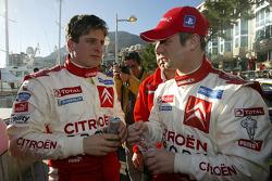 François Duval and Sébastien Loeb