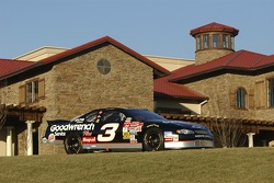 The legendary #3 Chevy in front of Richard Childress Vineyards