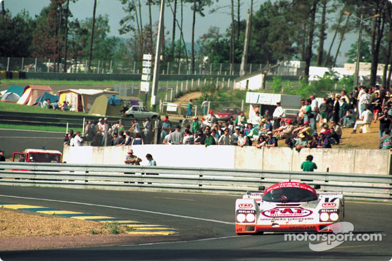 #17 Joest Porsche Racing Porsche 962C: Manuel Reuter, Frank Jelinski, John Winter