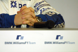 A little prayer for the new Williams BMW FW27