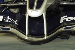 Detalle del nuevo Williams BMW FW27