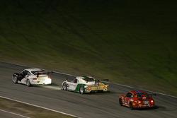 #14 Autometrics Motorsports Porsche GT3 Cup: Leh Keen, Cory Friedman, Steve Johnson, Al Bacon, #02 New Century Mtg/ Chip Ganassi w/Sabates Lexus Riley: Stefan Johansson, Jamie McMurray, Cort Wagner, #73 Baldwin-Tafel Racing Porsche GT3 Cup