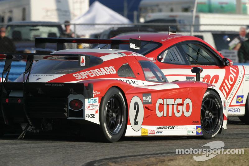 La CITGO - Howard - Boss Motorsports Pontiac Crawford N°2 (Milka Duno, Dario Franchitti, Dan Wheldon