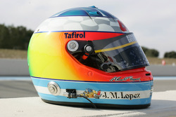 Helmet of Jose Maria Lopez