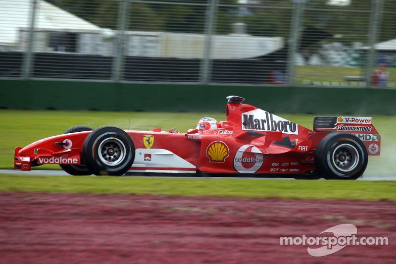 2005: Ferrari F2004M (один подиум)