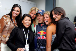 Christian Klien with Red Bull Racing guests