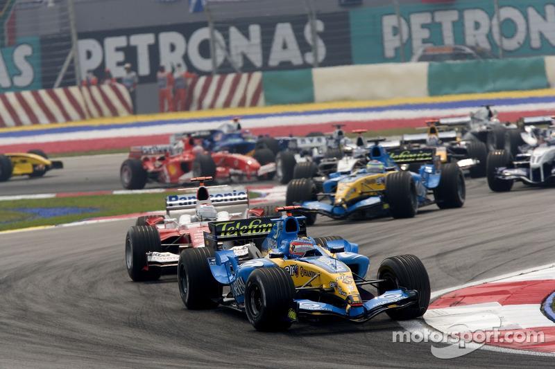 Fernando Alonso y Jarno Trulli