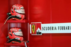 Helmets of Michael Schumacher