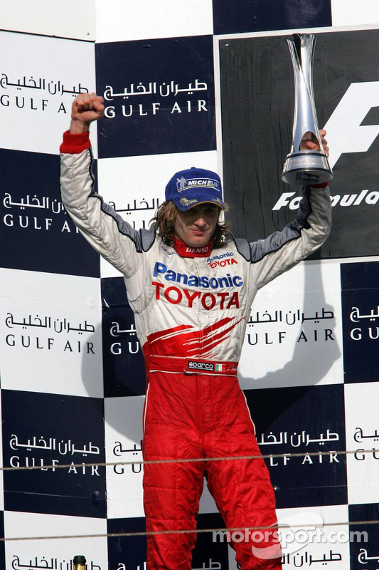 Jarno Trulli sur le podium