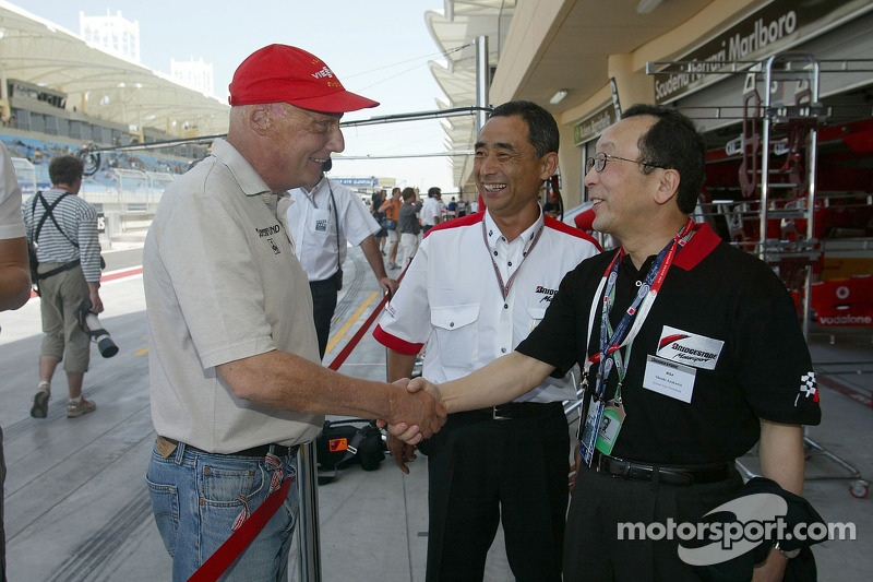 Invitados VIP en Ferrari
