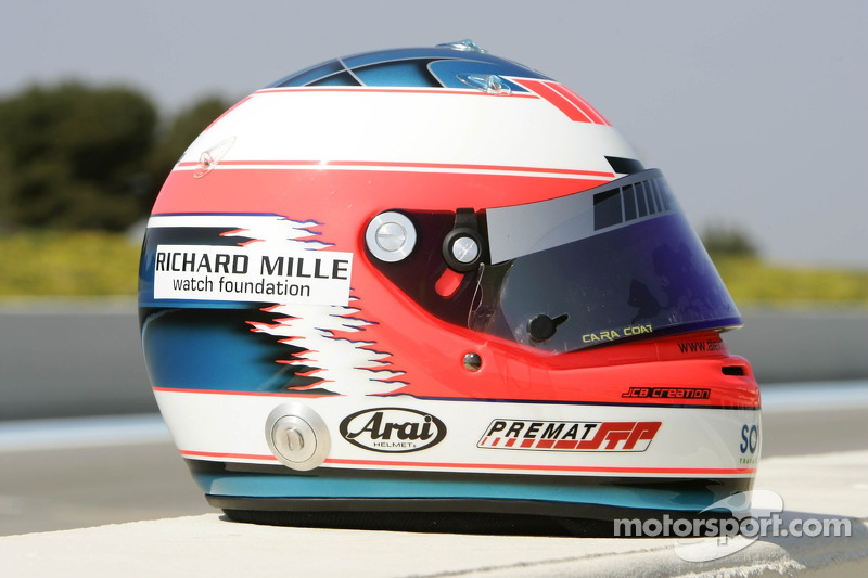 Helmet of Alex Premat
