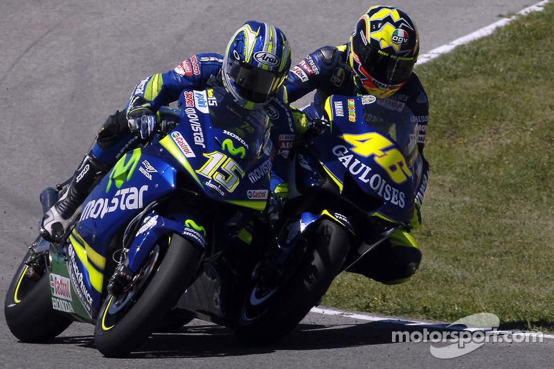 Jerez 2005 - Se desata la guerra con Sete Gibernau