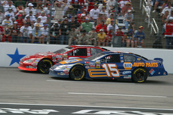 Dale Earnhardt Jr. and Michael Waltrip