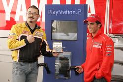 PlayStation event: Isao Nakamura and Toni Elias